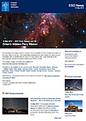 ESO Photo Release eso1321de-ch - Das verborgene feurige Band des Orion