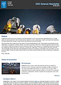ESO Science Newsletter - May 2013