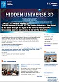 ESO Organisation Release eso1329-en-ie - World Premiere of IMAX® 3D Film Hidden Universe — Your ticket to the stars through the eyes of the world's most powerful telescopes, seen on screen and in 3D for the first time