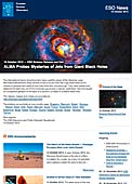 ESO Science Release eso1344 - ALMA Probes Mysteries of Jets from Giant Black Holes