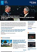 ESO Organisation Release eso1345-en-ie - Chilean President Visits Paranal to Announce Transfer of Land for the E-ELT