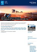 ESO Organisation Release eso1346 - ESO Celebrates 50 Years of Collaboration with Chile