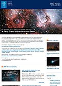 ESO Photo Release eso1348-en-ie - A Fiery Drama of Star Birth and Death