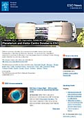 ESO Organisation Release eso1349 - Planetarium and Visitor Centre Donated to ESO