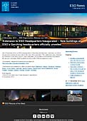 ESO Organisation Release eso1350-en-ie - Extension to ESO Headquarters Inaugurated — New buildings at ESO's Garching headquarters officially unveiled