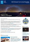 ESO Outreach Community Newsletter March 2014