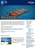 ESO Organisation Release eso1139 - ESO and Chile sign agreement on E-ELT