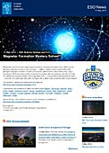 ESO Science Release eso1415 - Magnetar Formation Mystery Solved?