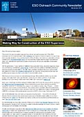 ESO Outreach Community Newsletter November 2014
