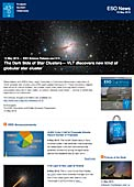 ESO — The Dark Side of Star Clusters — Science Release eso1519