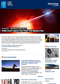 ESO — White Dwarf Lashes Red Dwarf with Mystery Ray — Science Release eso1627