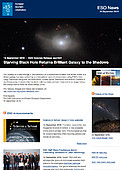 ESO — Starving Black Hole Returns Brilliant Galaxy to the Shadows — Science Release eso1631