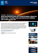 ESO — Newly Discovered Exoplanet May be Best Candidate in Search for Signs of Life — Science Release eso1712