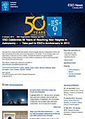 ESO Organisation Release eso1202 - ESO Celebrates 50 Years of Reaching New Heights in Astronomy — Take part in ESO's Anniversary in 2012
