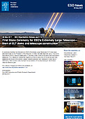 ESO — Colocada a primeira pedra do Extremely Large Telescope — Organisation Release eso1716pt-br