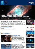 ESO — Cutting-edge Adaptive Optics Facility Sees First Light — Organisation Release eso1724