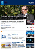 ESO — Xavier Barcons Starts as New ESO Director General — Organisation Release eso1728