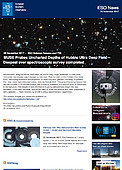 ESO — MUSE taucht in bisher unbekannte Tiefen des Hubble Ultra Deep Field — Science Release eso1738de-at