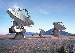 Postcard: The ALMA (Atacama Large Millimeter/submillimeter Array)