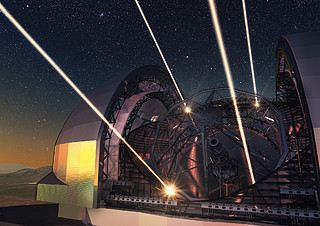 Postcard: The ELT (Extremely Large Telescope)