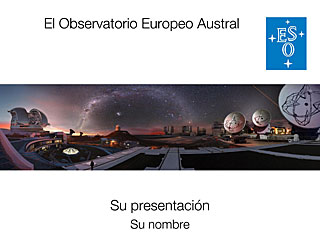 ESO General Presentation (Spanish)