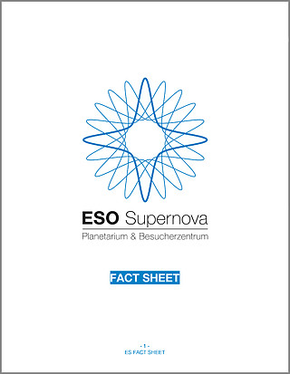 ESO Supernova Planetarium & Visitor Centre fact sheet (German)