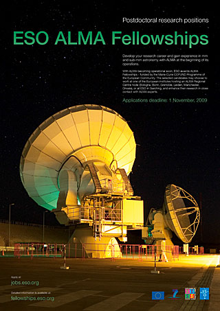 Poster: ESO/ALMA Fellowships