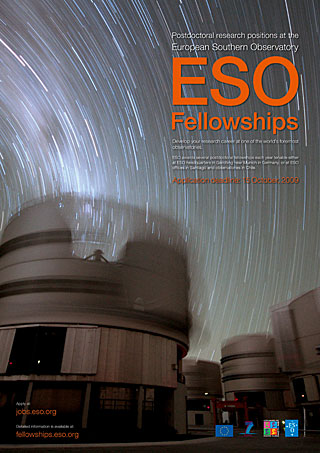 Poster: ESO Fellowships 2010