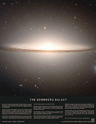 Poster: The Sombrero Galaxy