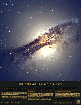 Poster: The Centaurus A Radio Galaxy
