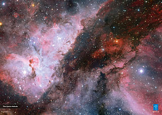 Poster: The Carina Nebula