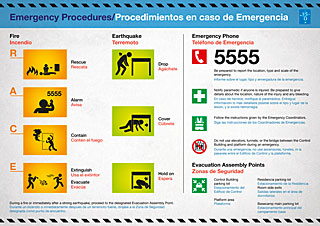 Poster: Emergency Poster Chile