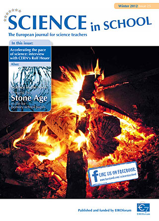 Science in School - Issue 25 - Winter 2012