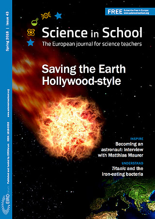 Science in School: Issue 43 - Spring 2018