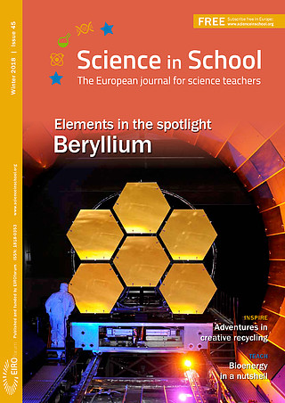 Science in School: Issue 45 - Winter 2018
