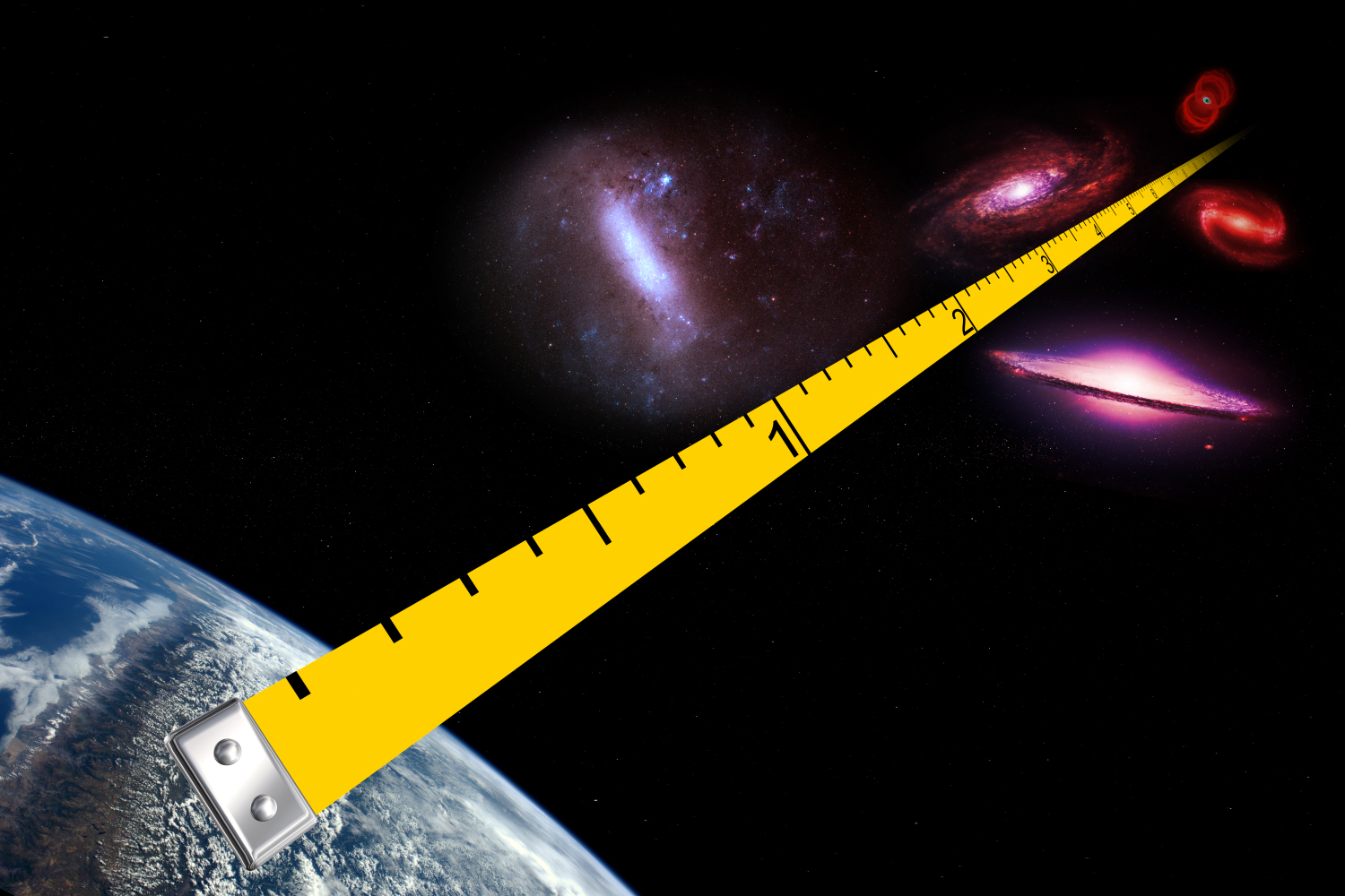 extra galactic distance ladder - HD1200×800