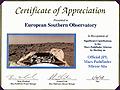 JPL Certificate