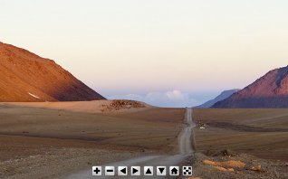 Virtual Tour at the Chajnantor Plateau