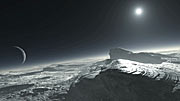 Pluto Surface (Artist's impression)