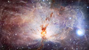 Infrared-visual crossfade, Flame Nebula