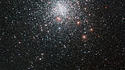 Panning across the globular star cluster Messier 4