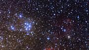 La región que rodea al cúmulo estelar Messier 18, más de cerca
