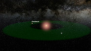 A fly-through of the Proxima Centauri system