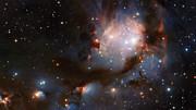 Panning across VISTA's view of Messier 78