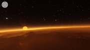 Virtual reality view of the TRAPPIST-1 planetary system