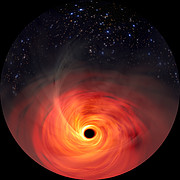 Simulation of a Supermassive Black Hole (Fulldome)