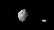 Artist's Impression of Asteroid 1999 KW4
