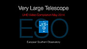 Very Large Telescope UHD Video Compilation