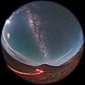 Moonrise over the VLT