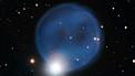 Panorámica sobre la nebulosa planetaria Abell 33